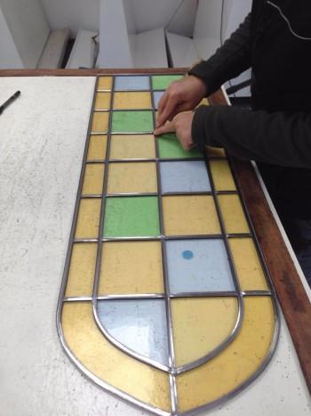 Création de vitraux pour professionnels